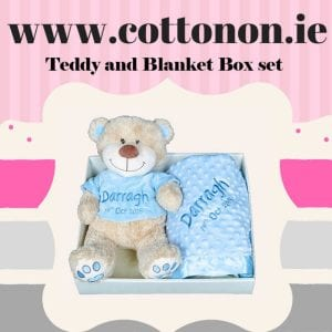 Teddy and Blanket Gift Hamper from CottonOn