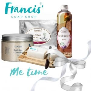 francis soap me time